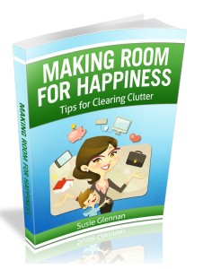 Making Room for Happiness: Tips for Clearing Clutter by Susie Glennan thebusywoman.com
