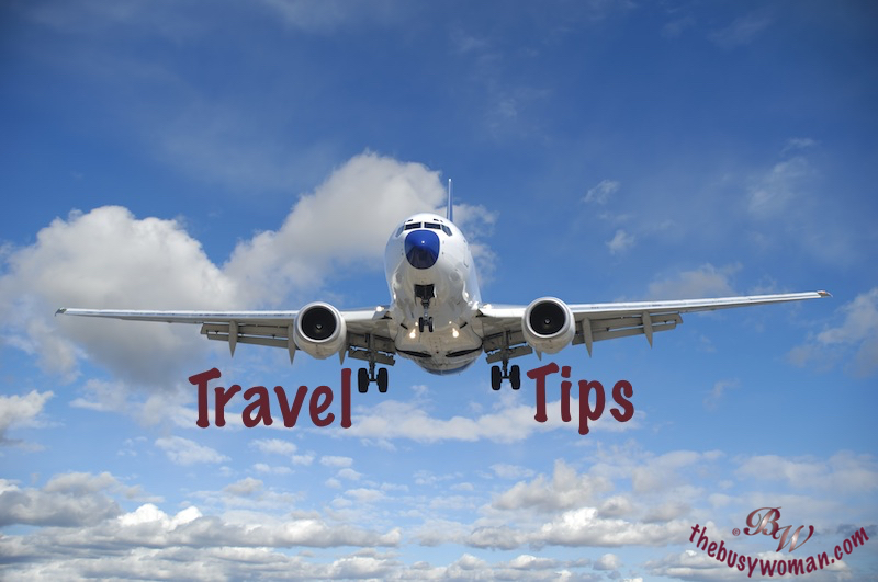 Travel Tips by Susie thebusywoman.com