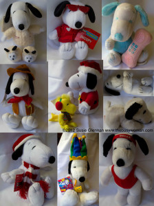 Snoopy Collage by Susie Glennan www.thebusywoman.com