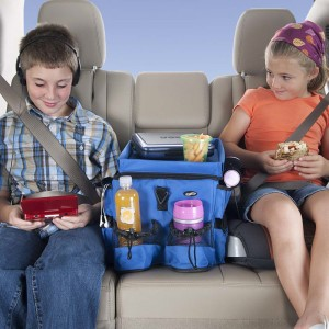 Kids Backseat Car Organizer by Talus Products - www.thebusywoman.com