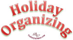 Holiday Organizing by thebusywoman.com
