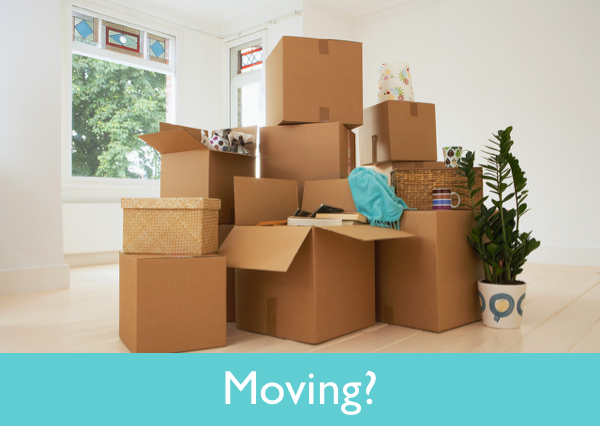 Moving? by Susie Glennan thebusywoman.com