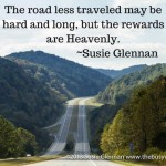 The Road Less Traveled by Susie Glennan The Busy Woman thebusywoman.com