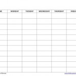 Free Homeschool Schedule Template