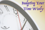 Budgeting Your Time Wisely