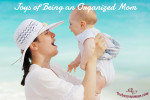 Joys Of Being An Organized Mom by The Busy Woman thebusywoman.com