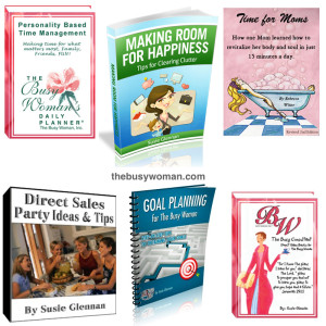 eBooks and Audio by The Busy Woman thebusywoman.com