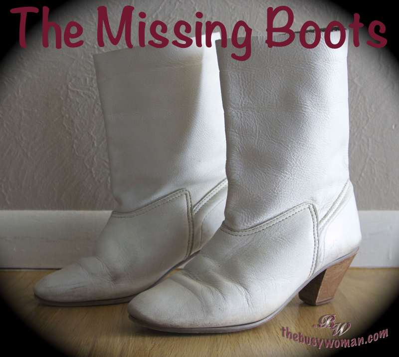The Missing Boots on thebusywoman.com