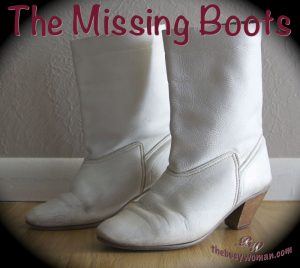 The Missing Boots by Susie Glennan The Busy Woman thebusywoman.com