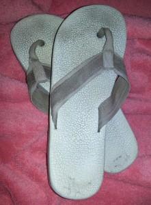 flip flops from Debbie