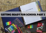 Getting ready for school part 2 by Susie thebusywoman.com