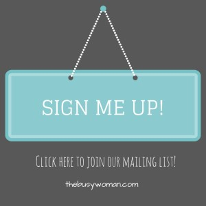Sign me up by Susie Glennan for email purge - thebusywoman.com