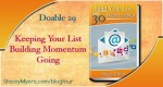 Doable-29 Build Your List with Stacey Myers 30 Daily Doables on thebusywoman.com