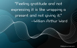 Feeling gratitude and not expressing it on thebusywoman.com