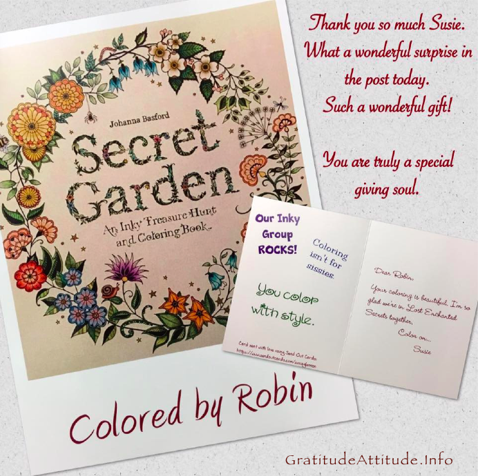 coloring page on a card, network marketing on thebusywoman.com
