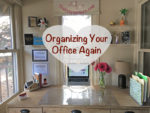 Organizing Your Office Again desk image final on thebusywoman.com