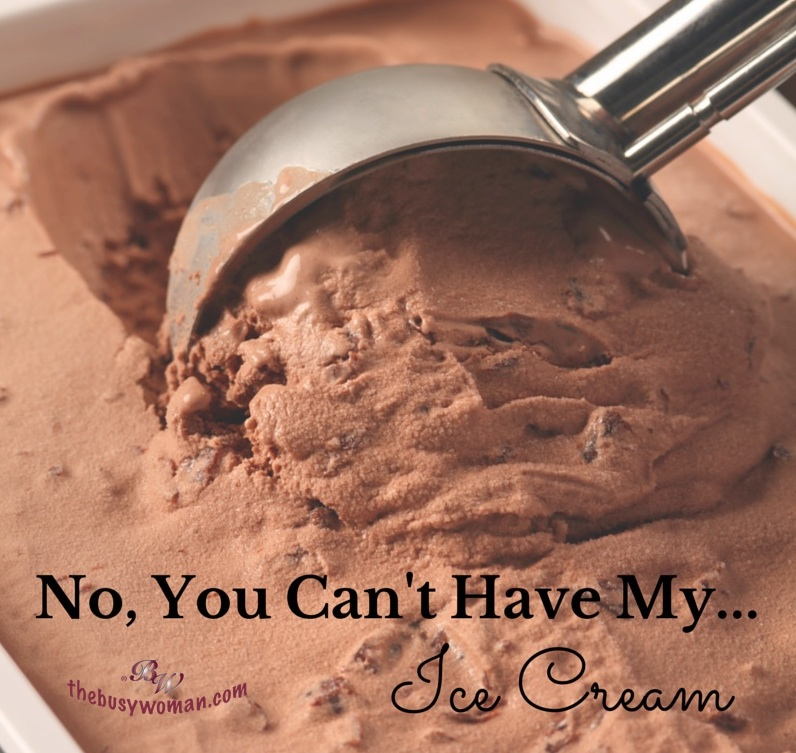 Boundaries - No you cant have my ice cream on thebusywoman.com
