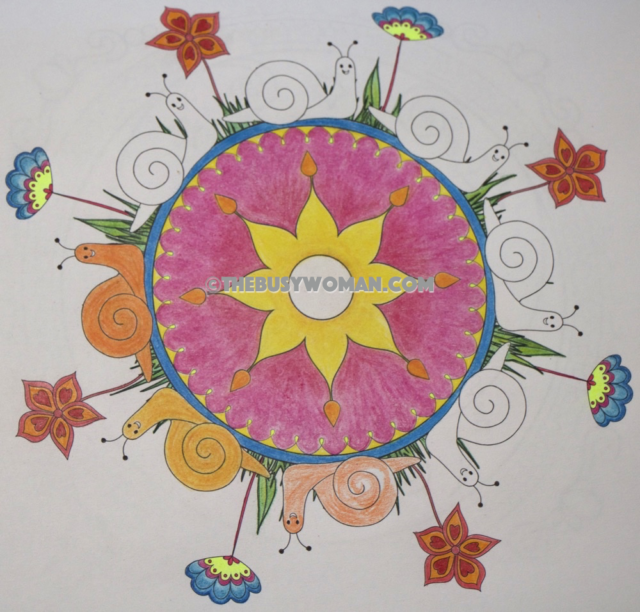 On a Roll With Coloring Pencils Review by Susie Glennan thebusywoman.com