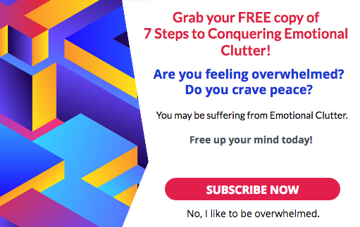 7 Steps to Conquering Emotional Clutter subscribe on thebusywoman.com