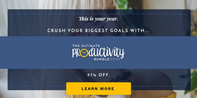 Get A Head Start Ultimate Productivity Bundle 2020 on thebusywoman.com