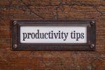 Productivity Tips on thebusywoman.com
