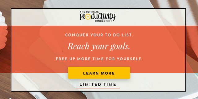 Ultimate Productivity Bundle on thebusywoman.com