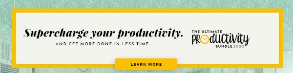 Supercharge Your Productivity with the Ultimate Productivity Bundle on thebusywoman.com